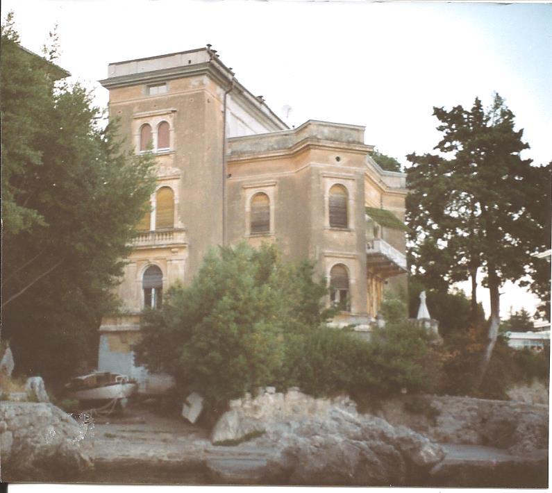 1913 Villa von Agnes in Abbazia