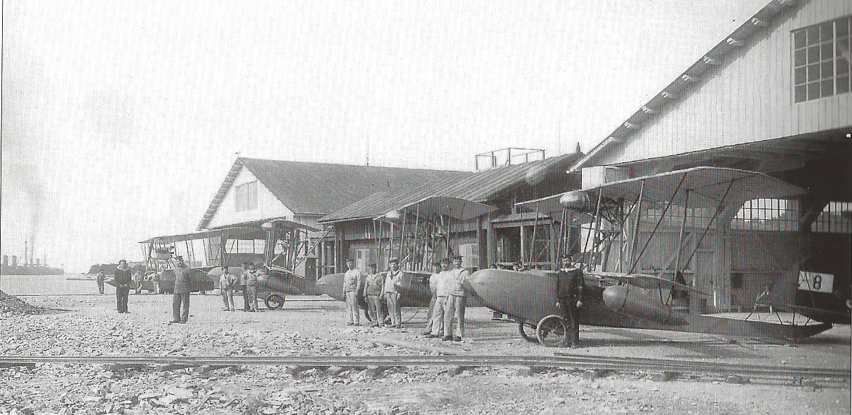 1915 Insel St. Katharina im kriegshafen von Pola_1913