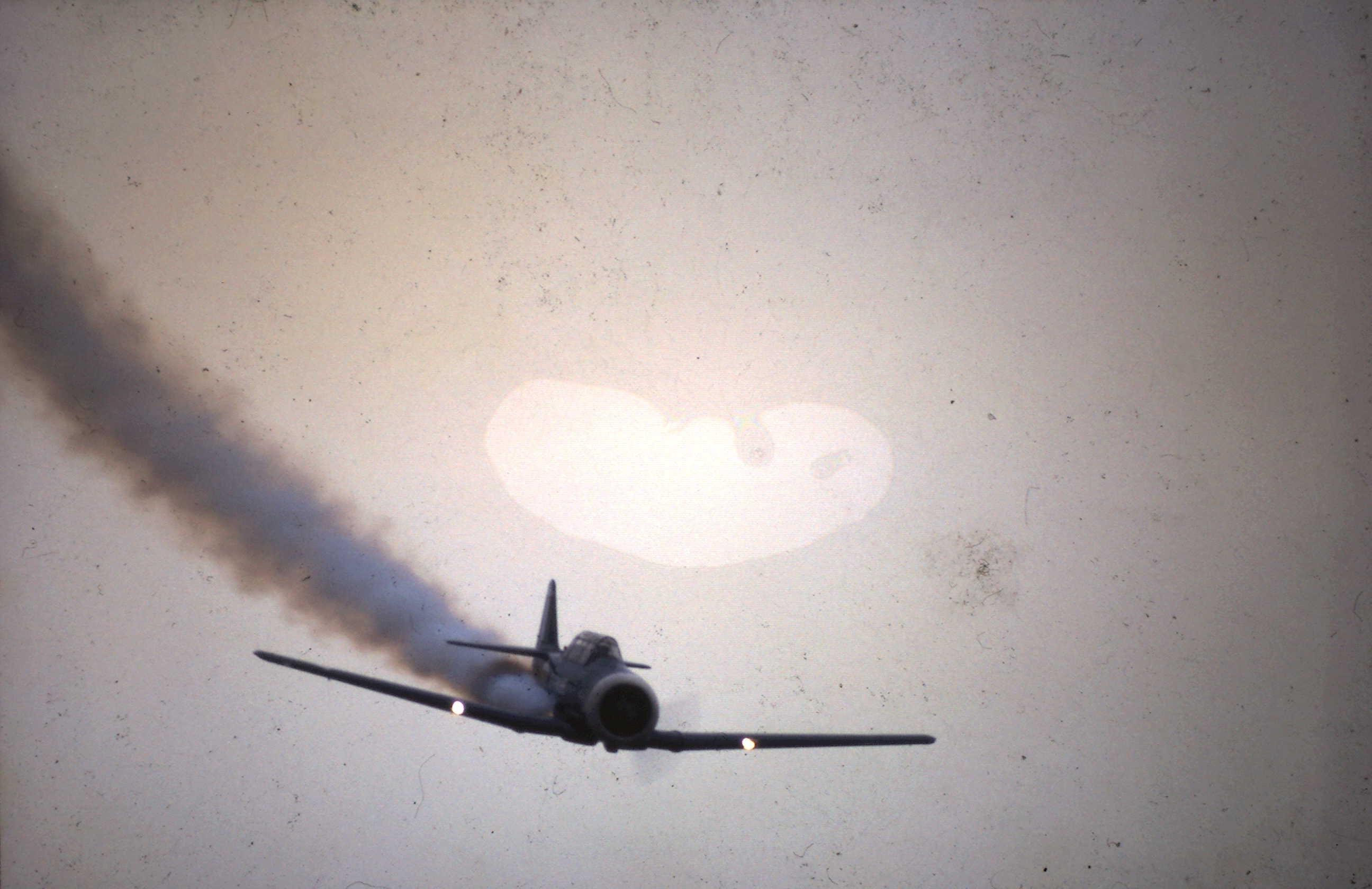 1936 Flugtag in Güssing Texan