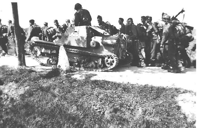 1937 Bh Tankette