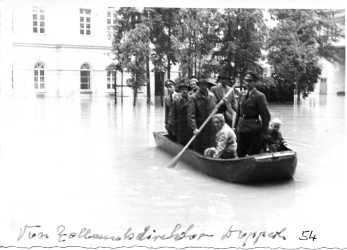 1954 Hochwasser Linz