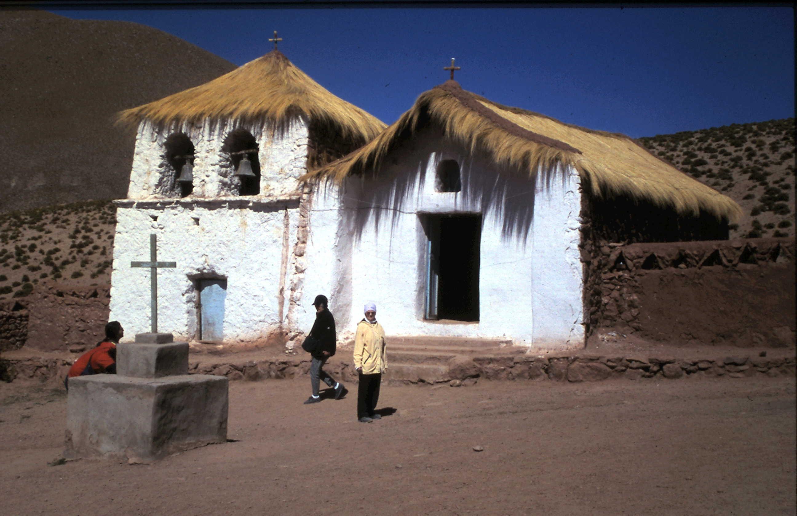 1972-08 Chile Atacama Majuka Dorfkirche