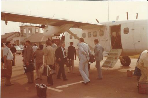 1977 Lagos WKo steigt in Fliegeri