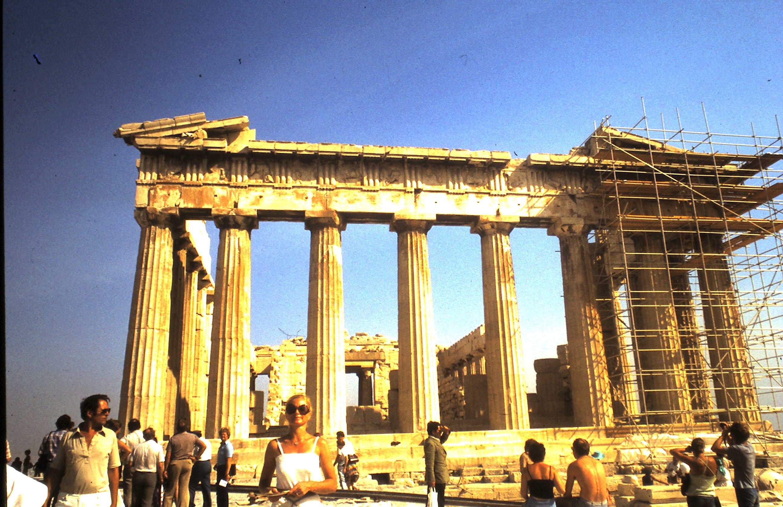 1979-09-28 HCC vor dem Parthenon