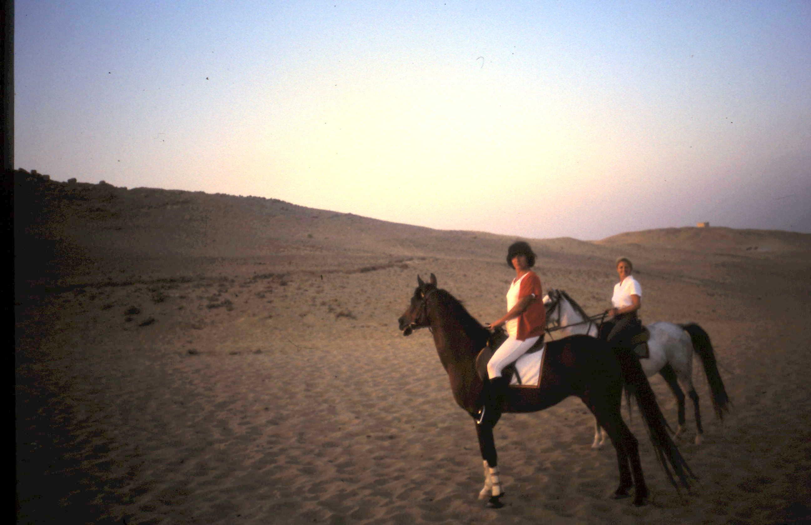 1985-11-01 Reitausflug bei Gise