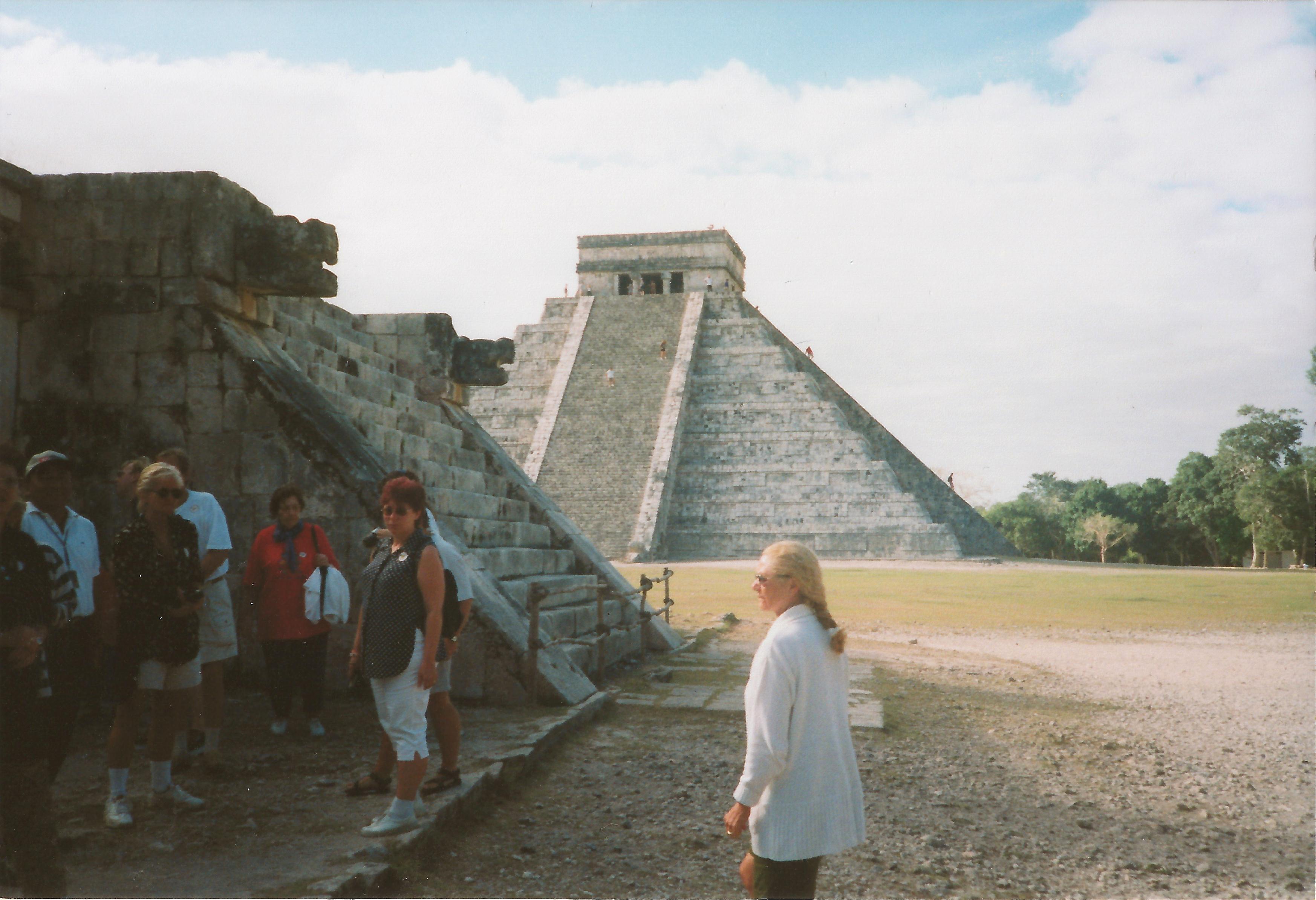 1999 Pyramiden Mexiko