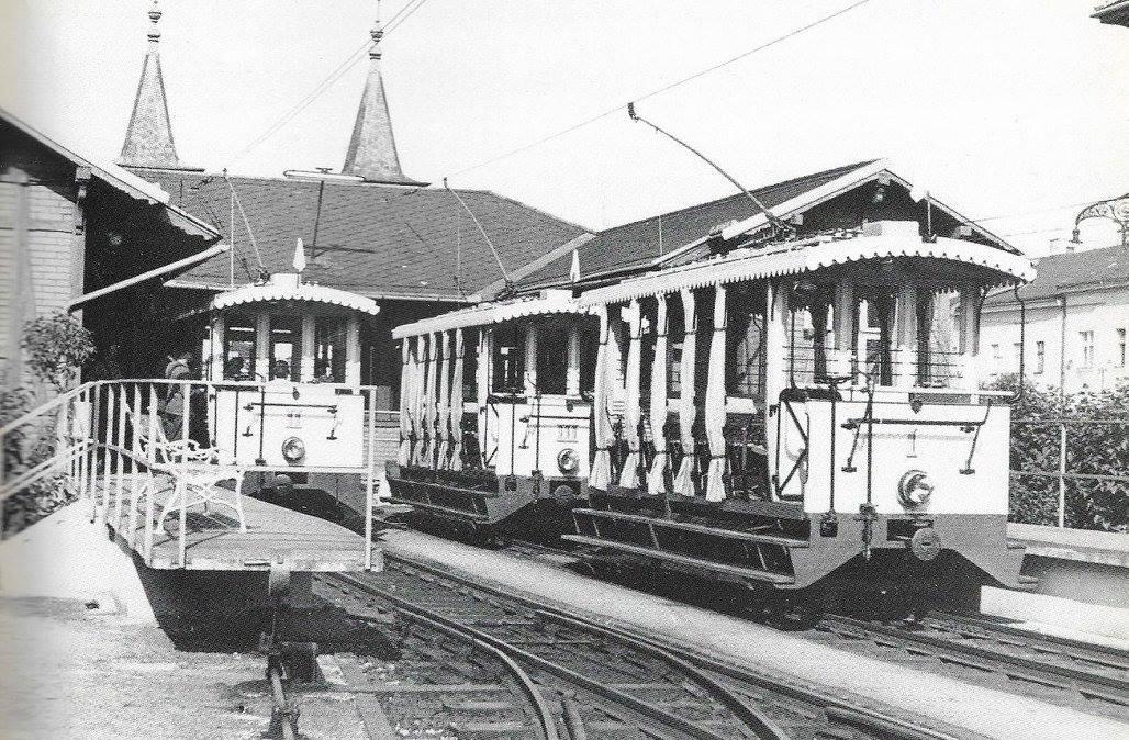 Pöstligbergbahn Talstation ca. 1950
