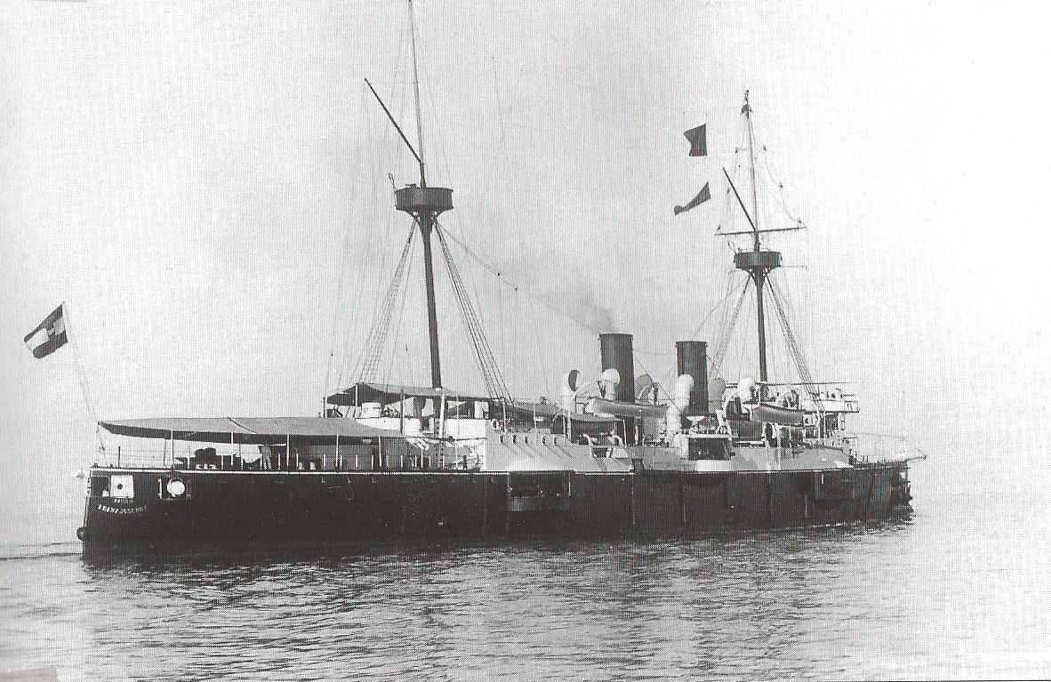 1905-08-01 Kreuzer Kaiser Franz josef