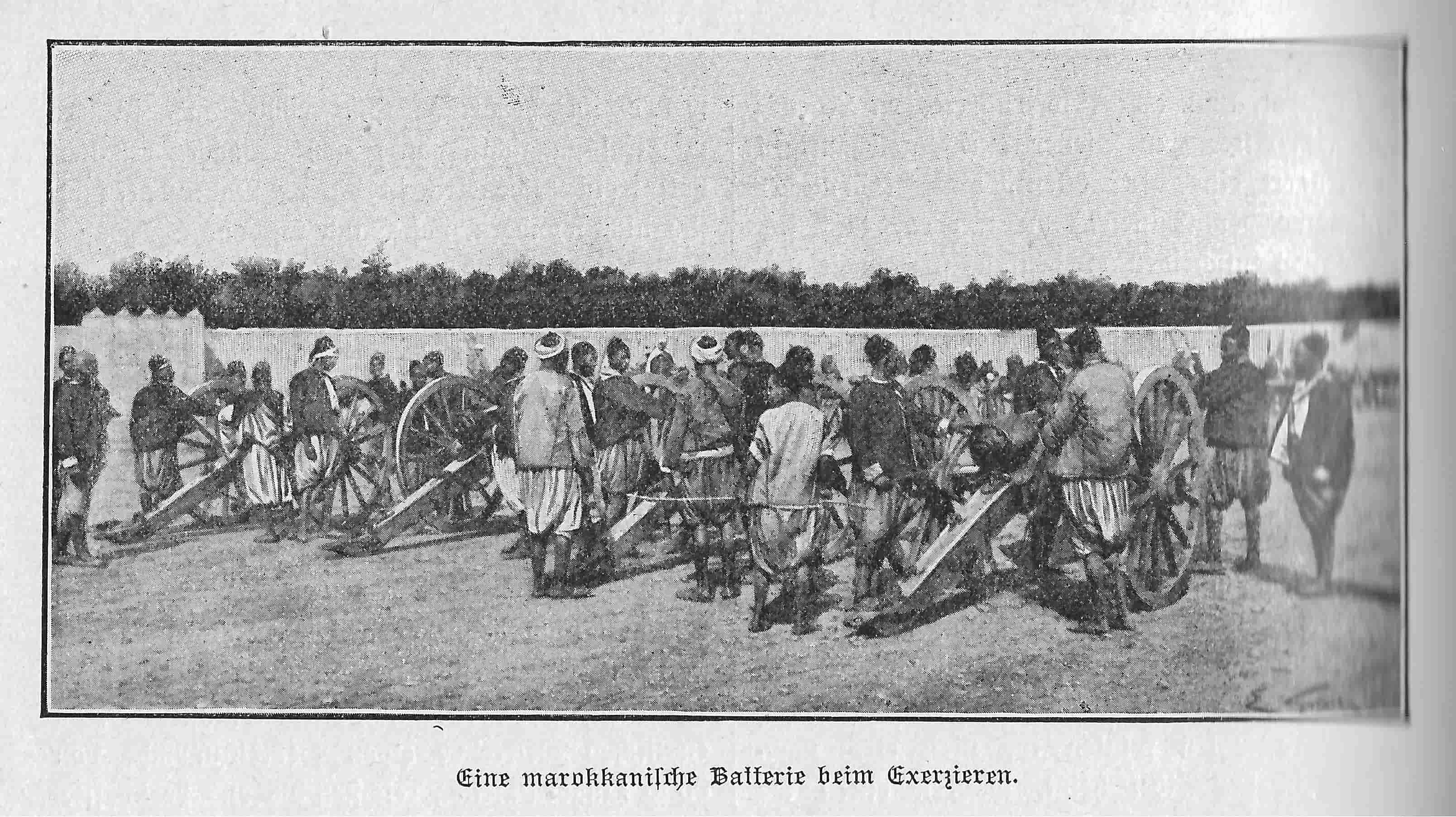 1907 Marokkanische Artillerie-min