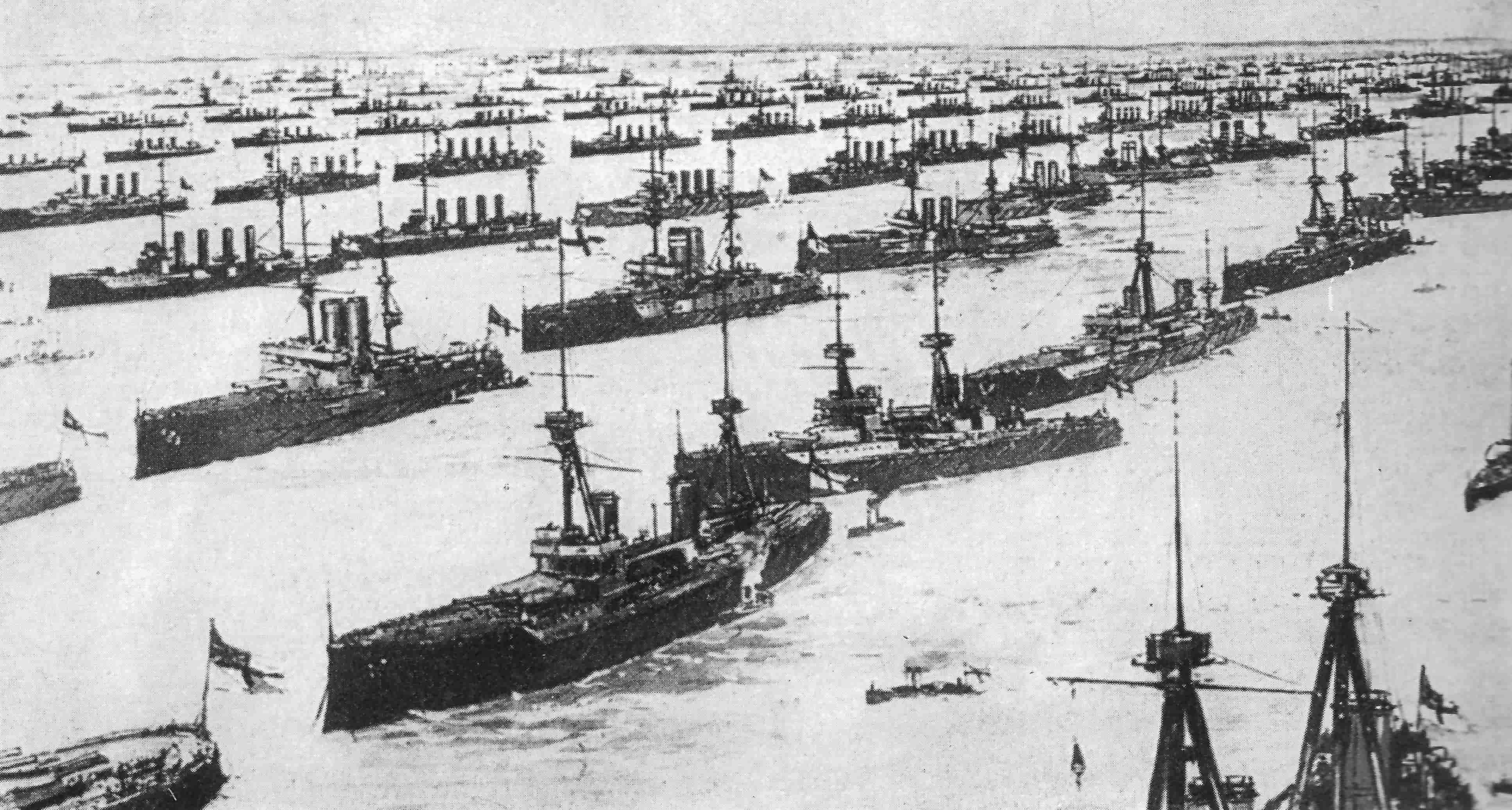 1911-06-14 Flottenparade Spithead-min