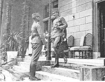 1918 Lehar u. Kaiser Karl auf Wartholz
