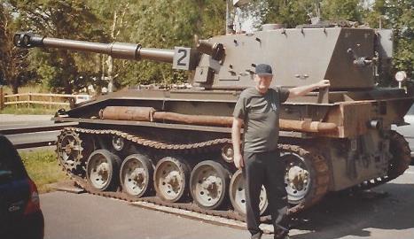 1982 Scorpion Tank, Falklandkrieg