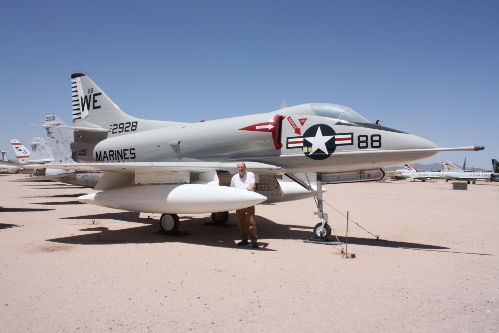 2014-05-12 Pima AFB A4 Skyhawk